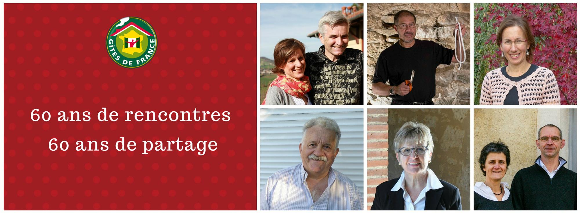 60 ans de rencontres, 60 ans de partage