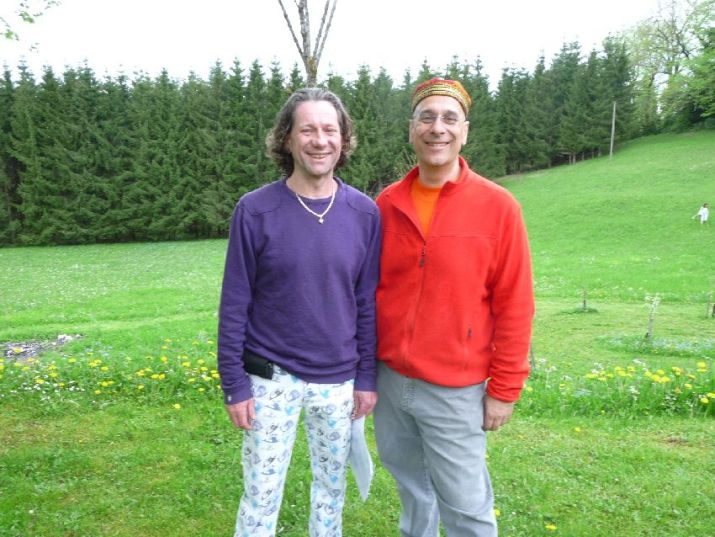 Eric et son compagnon Jean-Pierre
