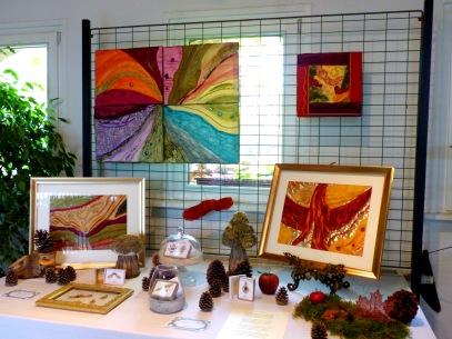 Exposition de l'art textile de Frédérique