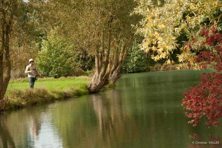 Un parcours de pêche est proposé
