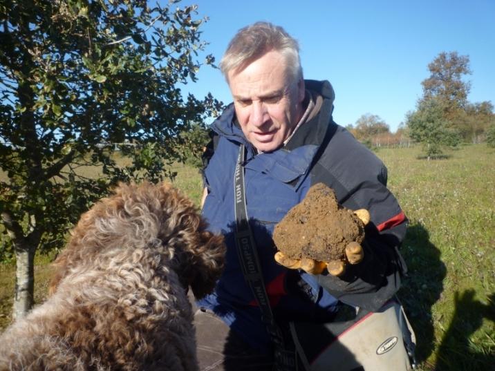 Une truffe a été trouvé !