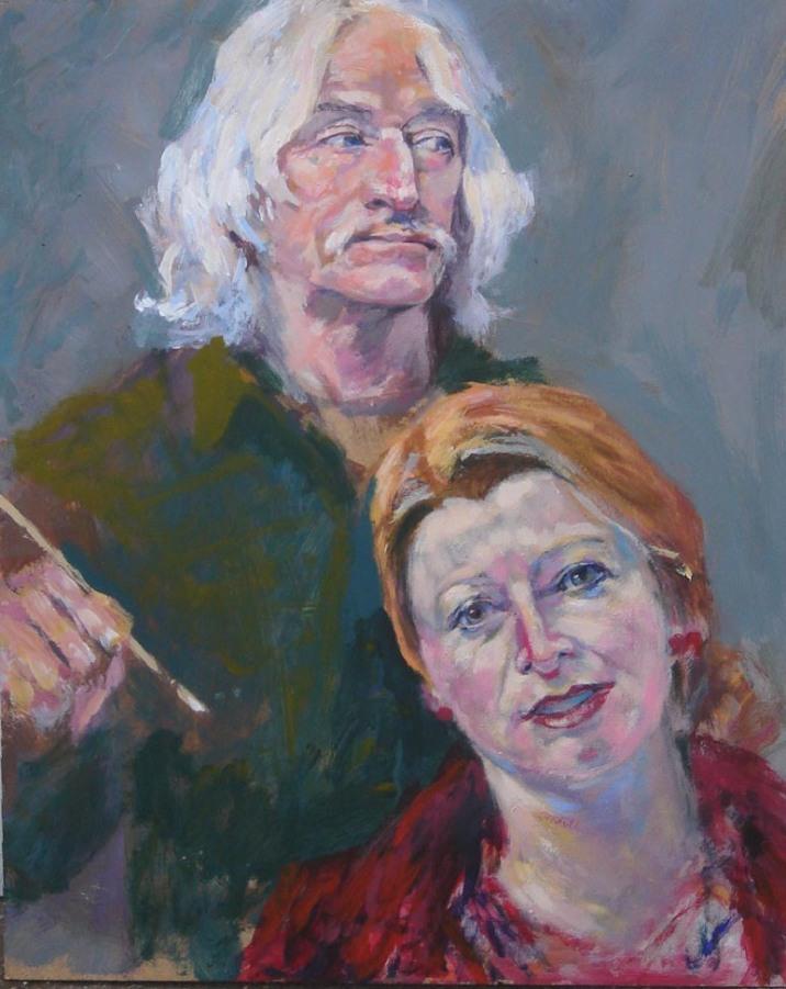 Portrait de Leo et Mieke