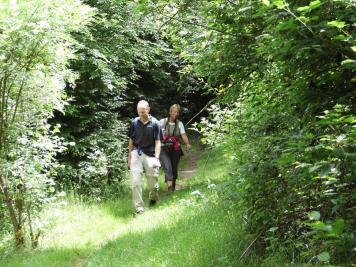 Corrie et Ronald en randonnée