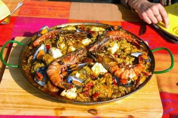 La Paella, un des plats préférés de Jean-Pierre
