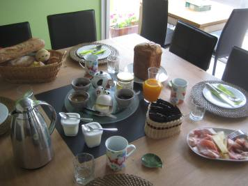 Le petit-déjeuner est prêt !