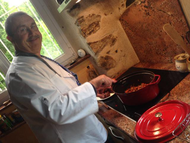 Gérard vous concoctera un délicieux dîner