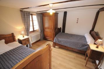 Les chambres du gîte Les Tournesols