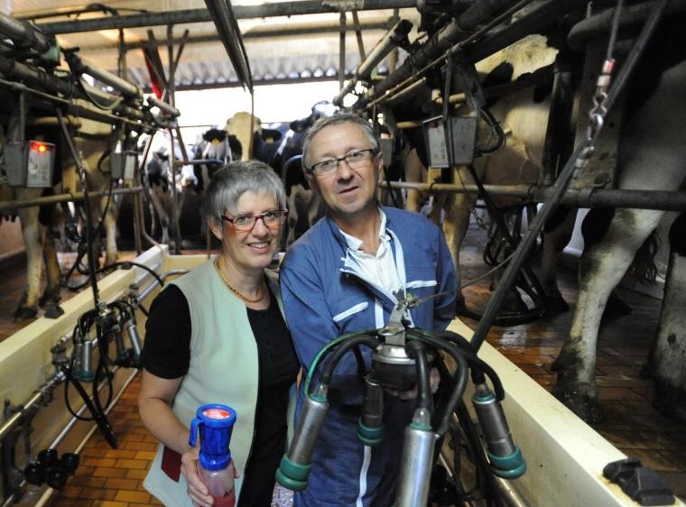 Brigitte et Pierre, propriétaires de chambres d'hôtes et d'un gîte en Haute-Saône