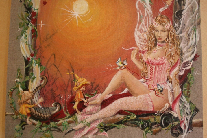 Tableau d'une fée romantique