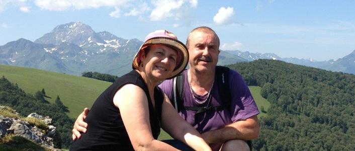 Yvette et Gérard, propriétaires de chambres d'hôtes dans les Hautes-Pyrénées