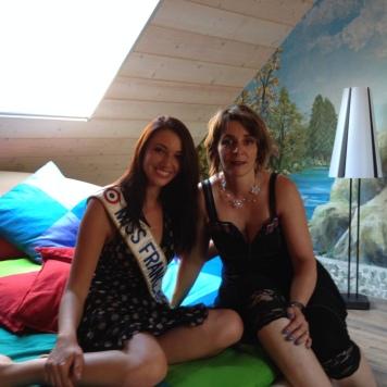 Miss France 2012 et Isabelle