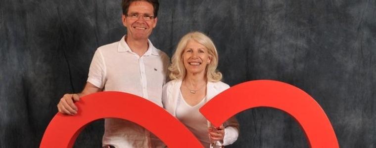 Eddy et Christiane, propriétaires d'un gîte dans le Haut-Rhin