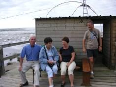 Visite de la pêcherie