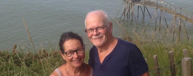 Chris et Jack-Alain, propriétaires d'un gîte en Loire-Atlantique