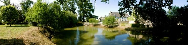 L'étang du domaine