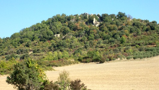 Châteauneuf-Val-St-Donnat dans les Alpes de Haute Provence