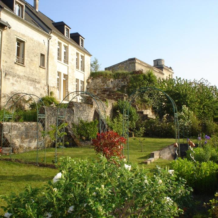Le jardin de la maison d'hôtes