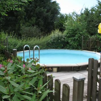 La piscine à l'eau de pluie