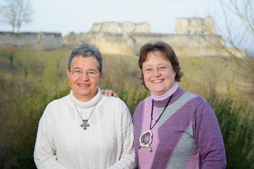 Michèle et Savine, propriétaires de chambres d'hôtes dans l'Aisne