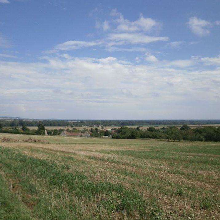 Vue sur la campagne de Luisetaines