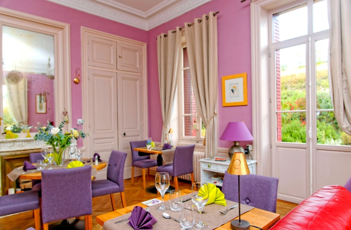 Nathalie et Philippe vous proposent des dîners en table d'hôtes