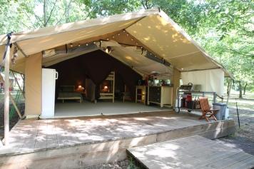 Camping et tentes lodge La Téouleyre dans les Landes