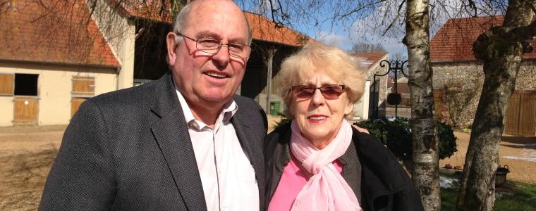 Jean-Claude et Christiane, propriétaires d'un gîte dans les Yvelines