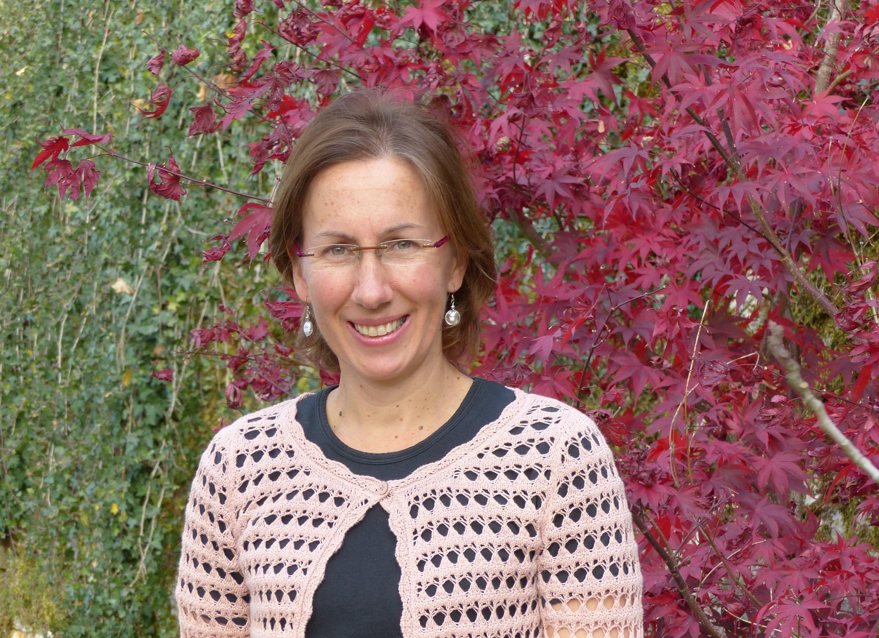 Jennifer, propriétaire d'un gîte dans le Jura