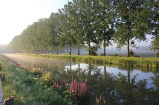 Moment de poésie : La Saône au levé du jour