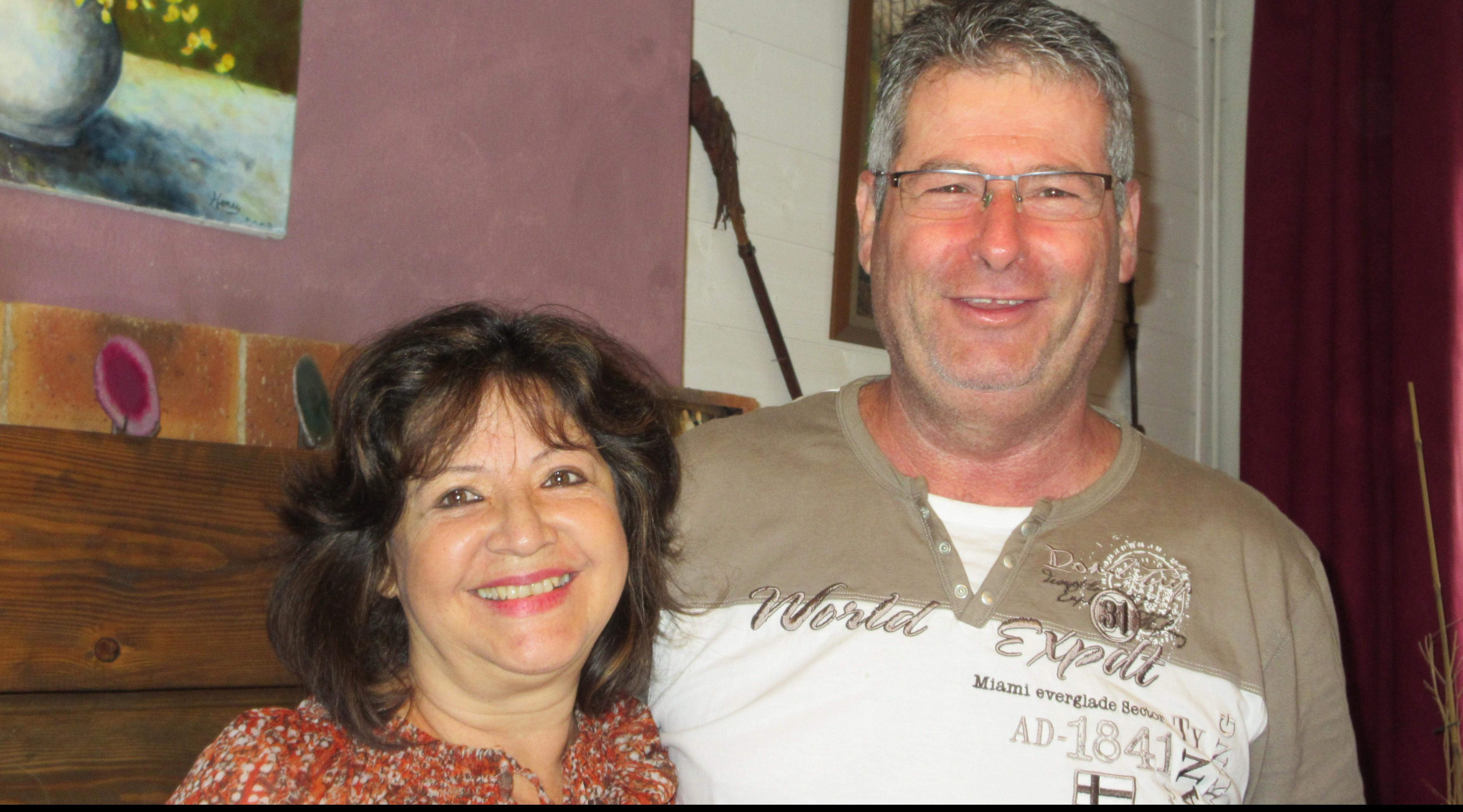 Patricia et Pascal, propriétaires de chambres d'hôtes dans les Hautes-Pyrénées