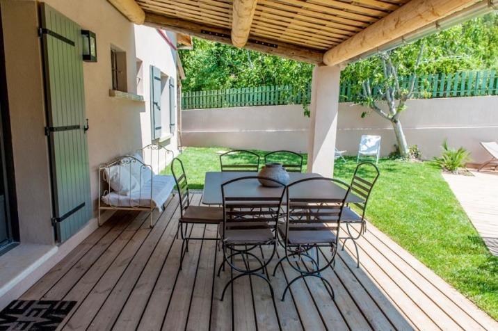La terrasse, pour profiter des beaux jours