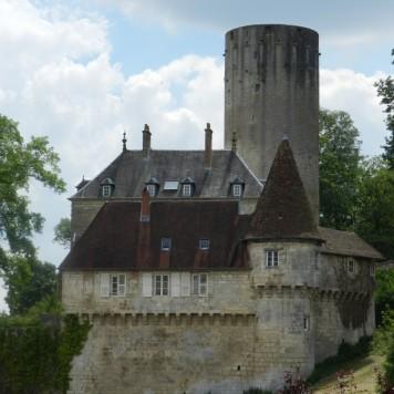 Le château et la tour de Rupt-sur-Saône