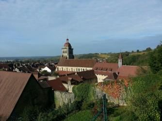 Vue sur Poligny