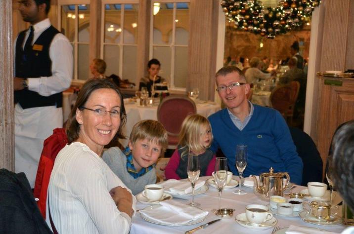 Jennifer et sa famille