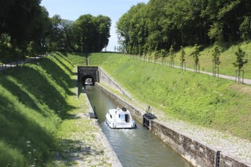 Le tunnel de Saint-Albin