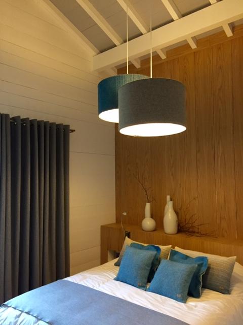La décoration d'une chambre pour un client de Pascale