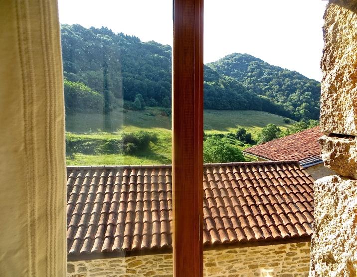 Les hôtes peuvent profiter d'une magnifique vue depuis le gîte