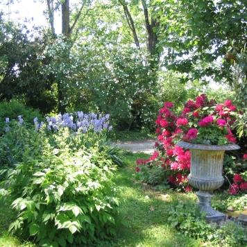 Un jardin tout en couleurs