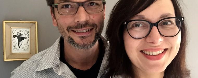 Alexis et Pascale, propriétaires d'un gîte de groupe et d'un gîte rural dans l'Ain