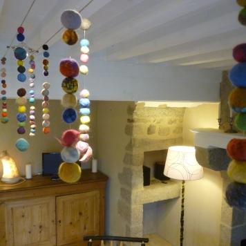 Décoration en laine