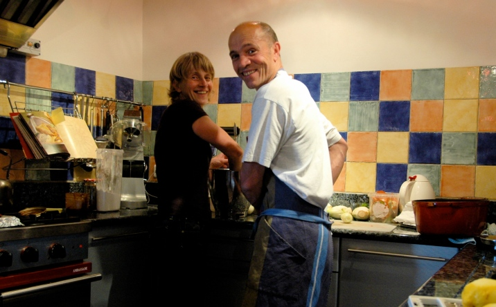 Véronique et Philippe sont passionnés de cuisine