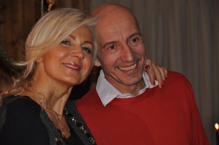 Marie avec son époux