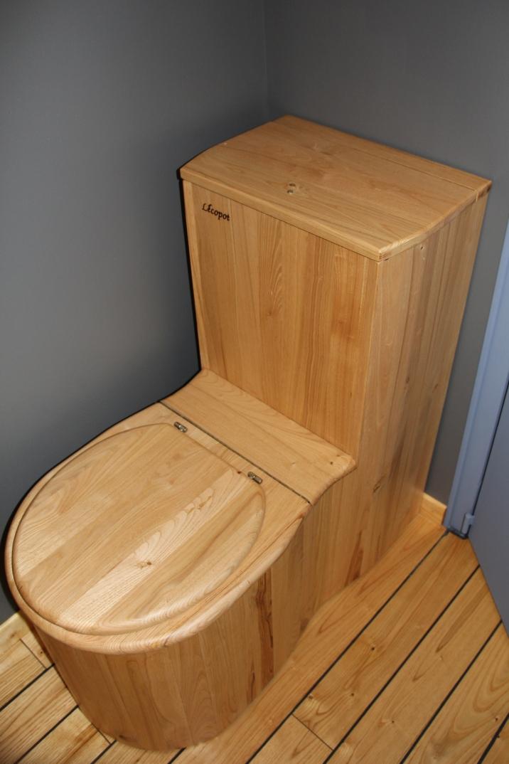 Les toilettes sèches, pour un mode de vie écologique