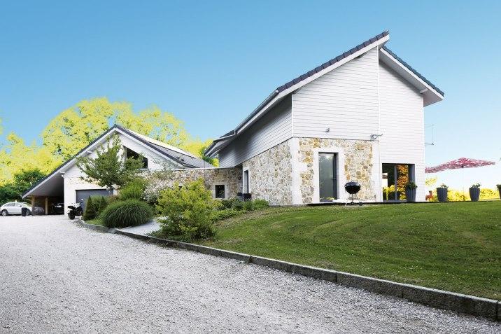 La maison de Frédérique, au style contemporain