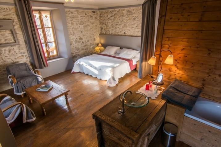 Les chambres d'hôtes de Pascale et Olivier reflètent un esprit chalet