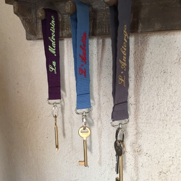 Les clés des chambres
