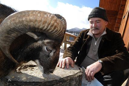 Bibi le mouflon et Georges