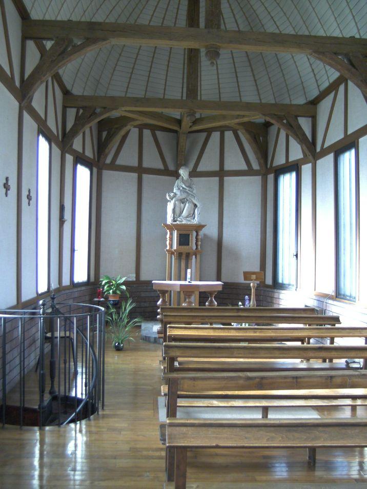 La petite chapelle, véritable havre de paix