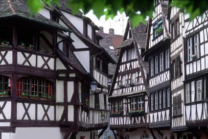 Maisons à colombages dans Strasbourg