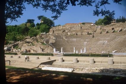 Théâtre romain de Lyon